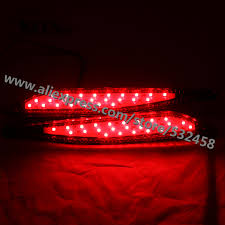 okeen brand led automobiles car rear bumper reflector