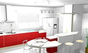 ilot rond cuisine décoration cuisine ilot plan de travail 38 brest cuisine design