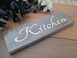 kitchen plaque oak wood kitchen sign kitchen decor wall