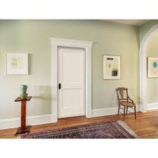 solid interior doors home depot jeld wen 36 in x 80 in smooth 2 panel primed solid core molded