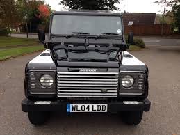 land rover black 2004 land rover defender 110 xs county station wagon td5 java