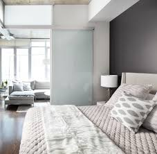 dark grey accent wall bedroom contemporary with throw pillows