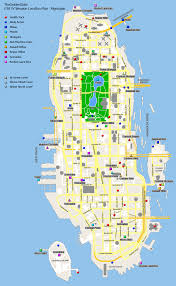 Gta World Map Grand Theft Auto Iv Weapon Location Map Algonquin For