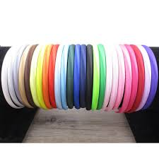 ribbon hair bands 50pcs10mm diy satin headband ribbon hair bands for baby