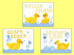 Yellow Duck Bath Rug Popular Items For Kids Bath Decor On Etsy Rubber Duck Kids Bath