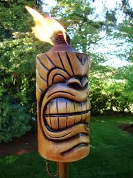 pedestal torch tiki torch lights garden torches amp patio torches