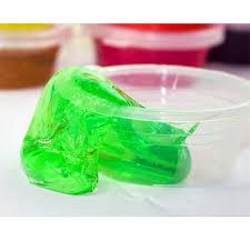 random 1pcs color crystal non toxic playdough slime rubber mud