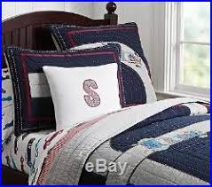 Pottery Barn Kids Twin Quilt Pottery Barn Kids Race Car Twin Quilt Std Sham Pillowcase New