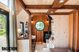 tasteful french tiny house ostara makes a grand entrance treehugger