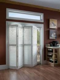 Bypass Shutters For Patio Doors Vinyl Plantation Shutters