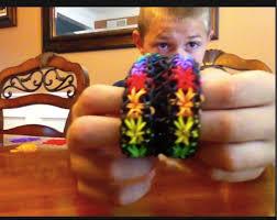 bracelet looms double images Double starburst bracelet jpg