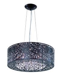 et2 lighting e21308 inca 24 inch wide 9 light large pendant
