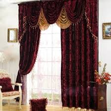 Burgundy Curtains With Valance Burgundy Valance Intuitiveconsultant Me