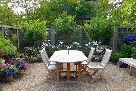 How To Make A Pea Gravel Patio 8 Cute Small Gardens And Outdoor Spaces Photos Architectural Digest