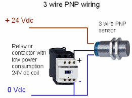 what is the difference between pnp and npn when describing 3 wire