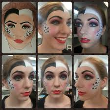 how much is makeup school here is how my chart turned out on my model cruella