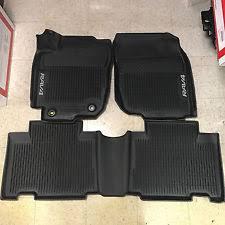 floor mats for toyota toyota rav4 rubber floor mats ebay