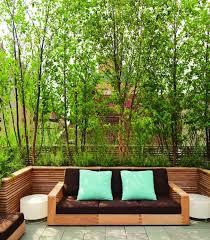 pflanzen als sichtschutz fã r balkon dachterrasse mit grünen pflanzen als sichtschutz terrasse
