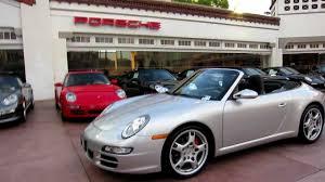 porsche 911 997 s 2007 porsche 911 s cabriolet 997 arctic silver black 6spd