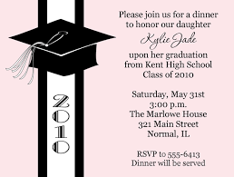 pink graduation invitations