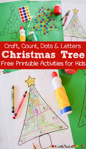 christmas tree free printable activities for kids christmas tree