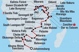 Victoria Falls Map South Africa Tours U0026 Travel Intrepid Travel Ie