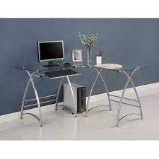 modern glass computer desk ebay