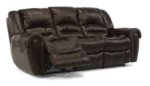 Reclining Sofa With Center Console Power Recliner Sofa Reclining With Center Console Chandler Reviews