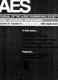 aes library complete journal volume 47 issue 9