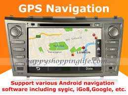 gps toyota camry android toyota camry dvd player gps navigation radio wifi 3g 2007 2011