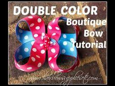 hair bow supplies how to make a stacked boutique hair bow the top hair bow