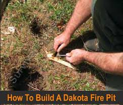 Dakota Firepit Survival Skills How To Build A Dakota Homestead Survival