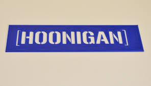 hoonigan sticker bomb hoonigan stencil