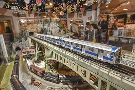 holiday train shows and train rides for nyc families