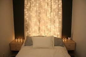 decorative string lights for bedroom ideas