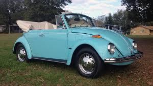 blue volkswagen beetle 1970 1970 volkswagen beetle convertible k161 kissimmee 2017