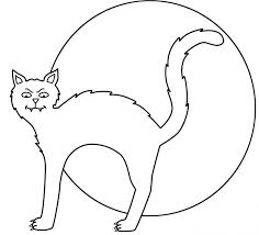 cute halloween cat coloring pages coloring pages