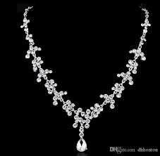 bride necklace images Bridal tiaras hair necklace earrings accessories wedding jewelry jpg