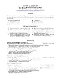 education on a resume resume for higher education administrator