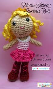 august stuffie month u2013 crocheted aurora doll