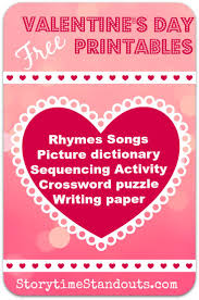 valentines day writing paper 24 best kindergarten printables images on pinterest early lost of free pdf printables no membership required valentine s day theme rhymes songs