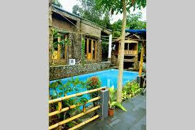 airbnb sentul hot spring stone villa sentul villas for rent in bogor west java