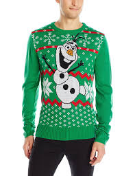 disney men u0027s olaf sweater at amazon men u0027s clothing store