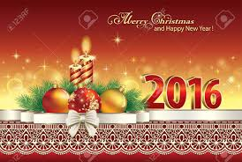 merry and happy new year 2016 clipart collection