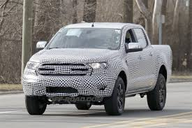 road ford ranger 2019 ford ranger prototype photos road com