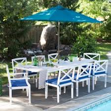 Patio Dining Set With Umbrella 6 Person Patio Dining Sets Hayneedle