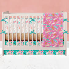 modern crib bedding custom baby bedding unique crib bedding