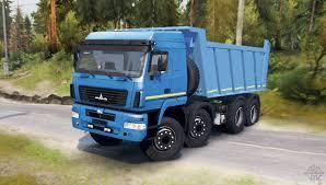 maz car 6516в9 for spin tires