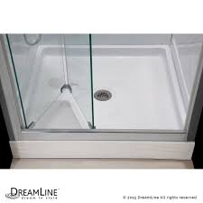 Frameless Glass Shower Door Kits by Dreamline Showers Butterfly Bi Fold Shower Door U0026 Base Kits