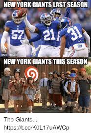New York Giant Memes - new york giants last season 57211 new york giants this season the